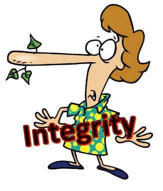 Integrity Cartoon Image